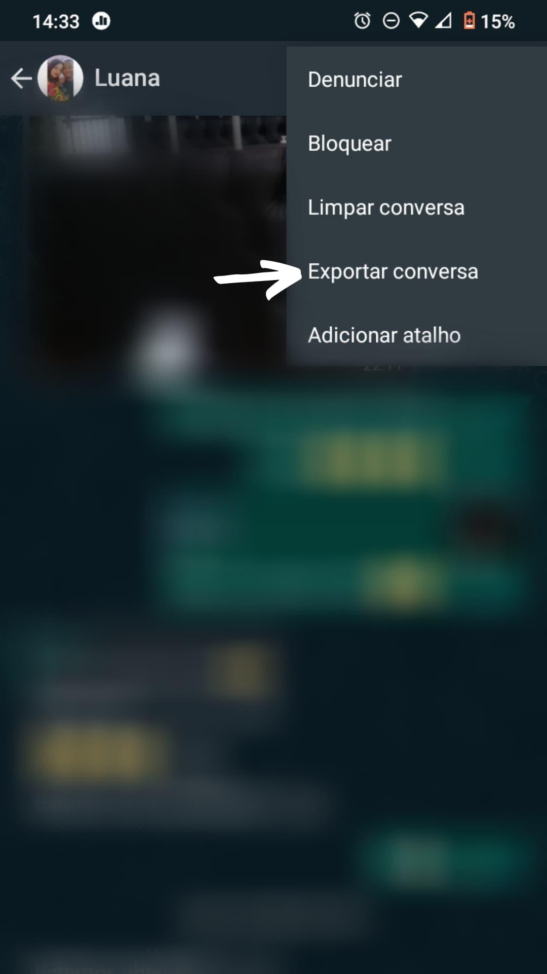 Exportar WhatsApp